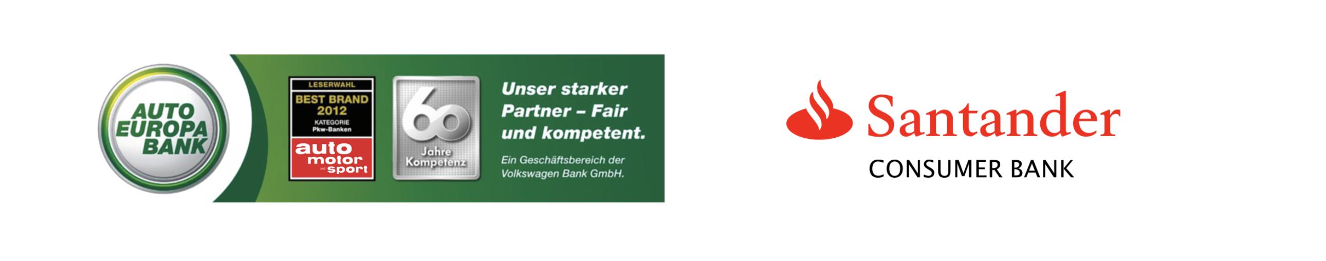 Auto Europa Bank und Santander Bank